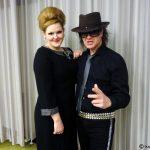Adele Doppelgängerin an der Seite von Udo Lindenberg Double Karsten Bald