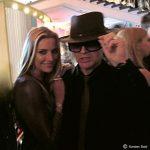 Udo Lindenberg Double Karsten Bald mit Sophia Thomalla bei der Echo-Verleihung in Berlin
