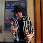 30 Jahre Panik Power: Udo Lindenberg Double Karsten Bald Backstage