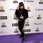 Bei der Echo Verleihung in Berlin als Geheimrat unterwegs: Udo Lindenberg Double Karsten Bald